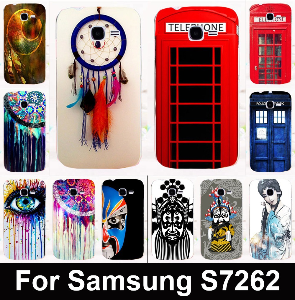 Dreamcatcher Telephone box mobile phone case protective case hard Back cover for Samsung Galaxy Star Pro S7260 S7262 s7278 i679(China (Mainland))