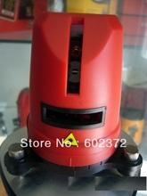 Envío gratis! 1V1H nivel láser rojo del Laser de viga nivel cruz nivel láser 1V1H Red 2 línea 1 punto