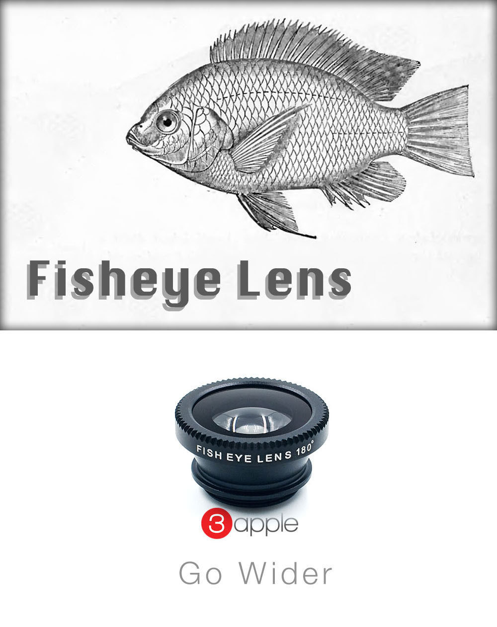 Universal Fisheye Fish eye lente para camera de celular Lens For iphone 4 nexus 5 samsung galaxy s5 S4 phone lente olho de peixe  Compatible Brand Apple iPhonesBlackberryHTCLGMotorolaNokiaPalmPanasoni