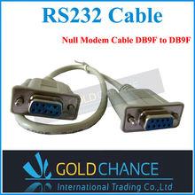 Бесплатная доставка RS232 кабель для передачи данных 5 м женский серийный DB9 9 контакт. RS 232 кабель