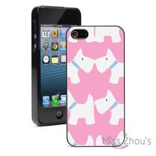 Scottie font b Scotish b font Terriers Pink Protector back skins mobile phone cases for iphone