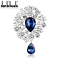 New fashion jewelry crystal brooch brooch pendant zircon pendant jewelry wedding party gifts