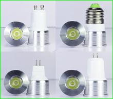 1W/3W Mini led bulb E27 E14 GU5.3 GU10 MR11 AC90-260V 35mm Mini led lamp white or Warm white RoHS CE(China (Mainland))