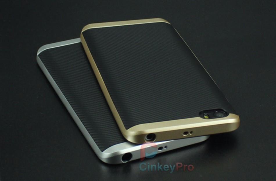 CinkeyPro Ultra Slim TPU Back Cover + PC Bumper Cases Mobile Phone Accessories Silicon Protective For Xiaomi Mi5 Case