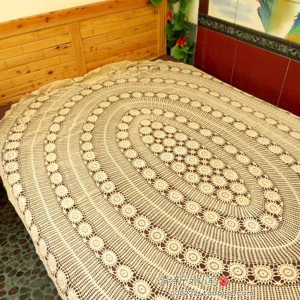 Promo o de colcha de renda de crochet disconto for Ikea colchas cama