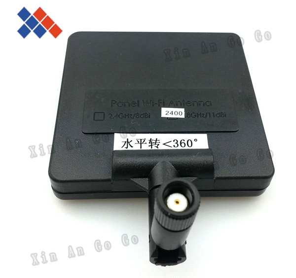 free shipping 360 2.4G indoor wifi Wireless router antenna 8dbi with RP-SMA connector Panel directional aerial(China (Mainland))