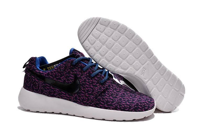 Nike Roshe Run Nere Leopardate