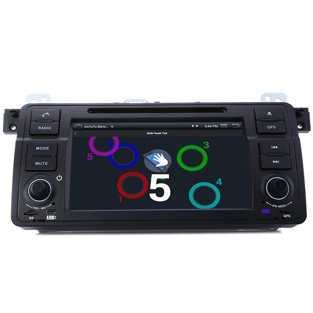 1 Din Quad Core Car DVD Player for BMW Series E46 DVD WIFI Single Din DVD Player for BMW In-dash Auto Video Multimedia Players(China (Mainland))