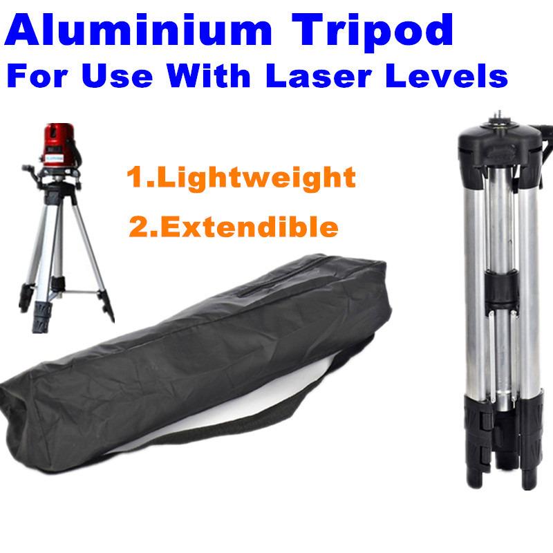 Lightweight Extendible Aluminum Tripod For Use With Laser Levels 120cm Laser Level Tripod Leve Laser Aluminum Adjustable Tripod(China (Mainland))