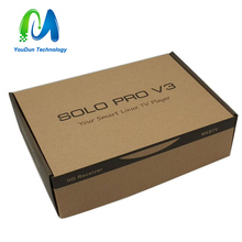 BCM7358 Satellite tv receiver which name SOLO PRO V3 decoder DVB S2 / S,support CCCAM and IPTV,And it is free shipping(China (Mainland))