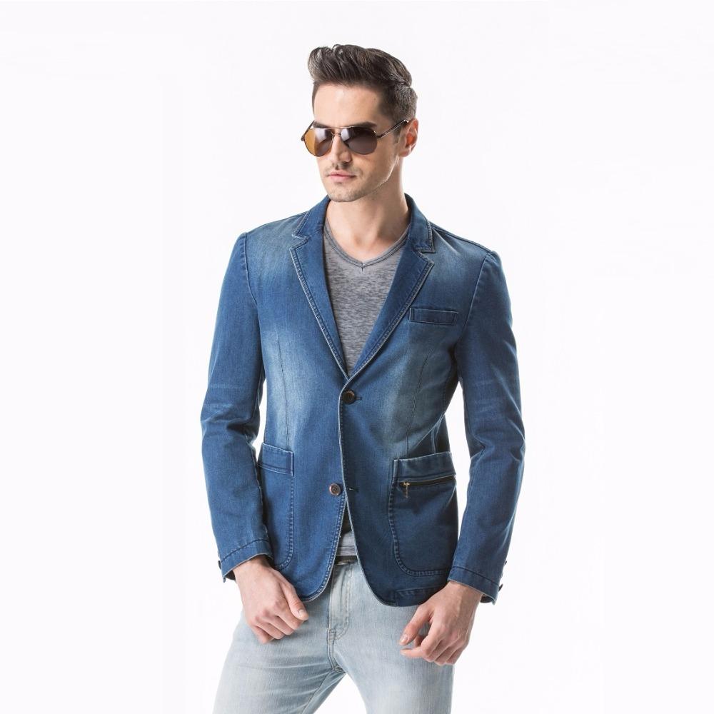 hommes denim blazer achetez des lots petit prix hommes denim blazer en provenance de. Black Bedroom Furniture Sets. Home Design Ideas