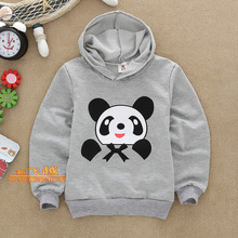 Boys Girls Autumn cartoon bear child long-sleeve children's clothing with a hood long-sleeve hot-selling child autumn(China (Mainland))