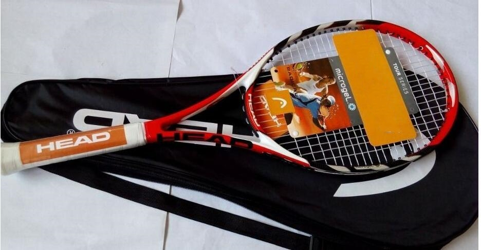 free shipping L4 Head Carbon Fiber Material Tennis Racket For Men And Women Tennis Sport Training Grip Size 4 1/4 -4 3/8(China (Mainland))