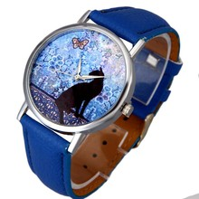 Cat Pattern Printed Watches