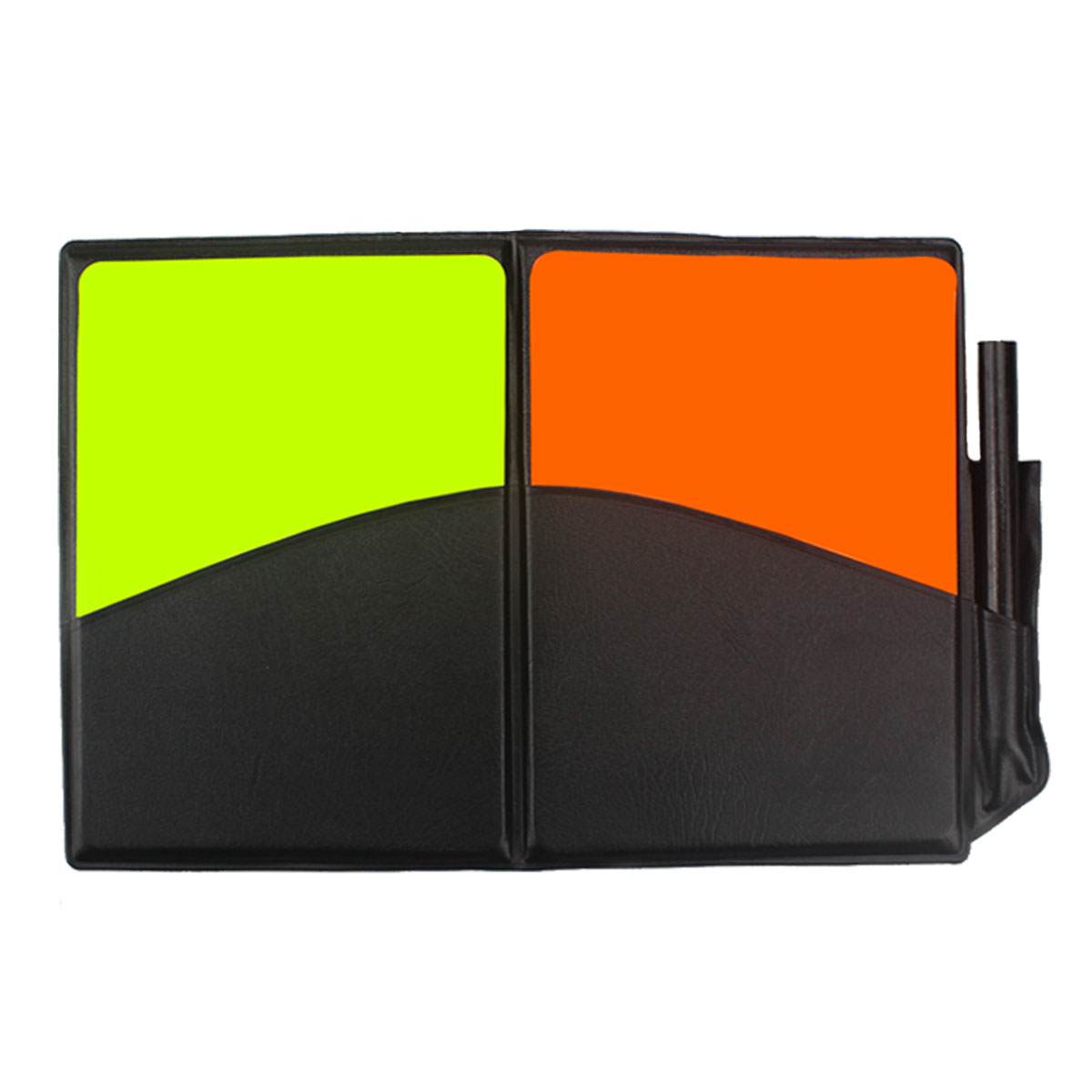 Soccer Football Referee Judge Card Red Yellow Cards Plastic with Wallet Case Pencil Recording Paper Professional for Match Game(China (Mainland))