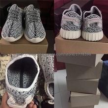 Yzy мужчины 350 низкая сапоги qasa PrimeKnit канье уэст горячеканальная сникер обувь