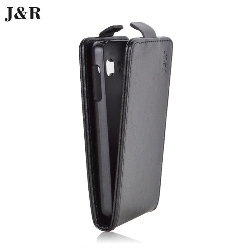 Гаджет  J&R Brand Leather Flip Case For LG Optimus L60 X145 Phone Cover Vertical Magnetic 9 Colors Available None Телефоны и Телекоммуникации