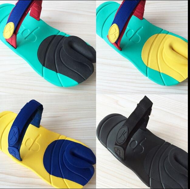 Summer beach sandals personality new popular logo man bean curd dopie flip-flops thong slippers in summer(China (Mainland))