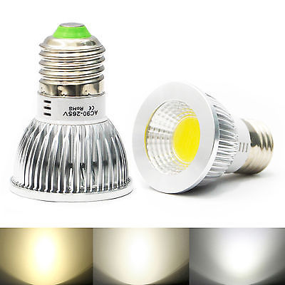 Dimmer High Power COB E27 LED Light Bulb 9W 12w 15w COB LED Spot Light Bulb Lamp White/Warm White Bulb lamp(China (Mainland))