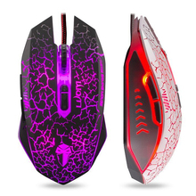 Original LUOM G6 800/1200/1600/2000 DPI 7 Buttons Computer Mouse Optical USB Gaming Game Mice LOL CF Laptops Desktops - LXHY 4UDISCOUNT GROUP CO., LTD store