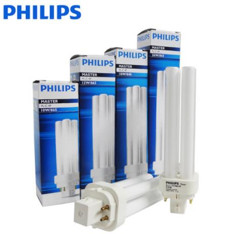 PHILIPS MASTER PL-C 4P 18W/830/4P 18W/840/4P compact fluorescnet lamp,PLC 18W 3000K 4000K 4 pins light tube(China (Mainland))