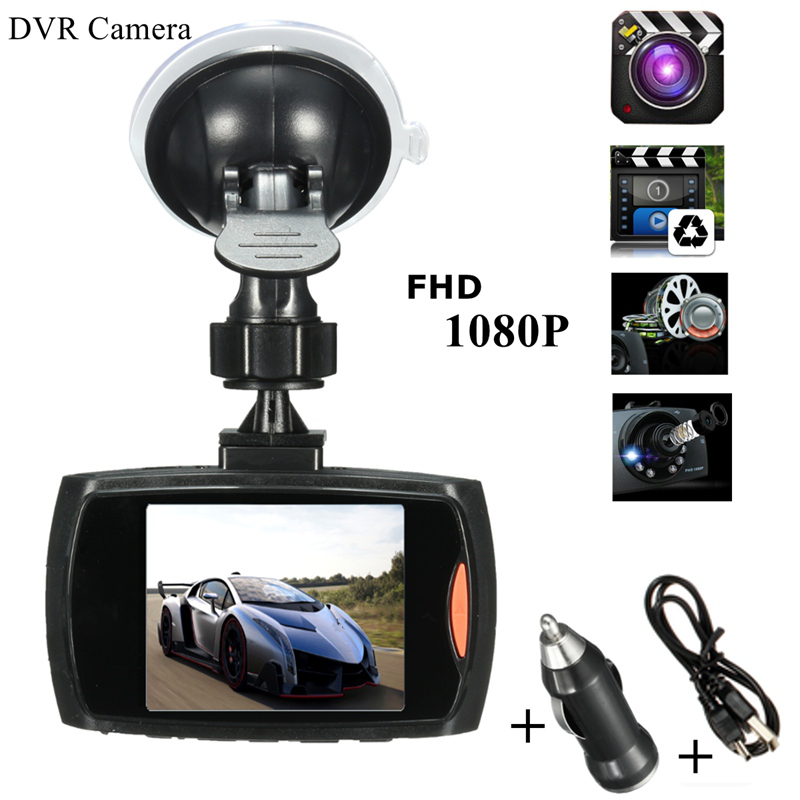 Best Promotion 2.7 Inch Full HD 1080P Car DVR Camera Dash Cam Auto Video Recorder 170 Degree G-Sensor Night Vision(China (Mainland))