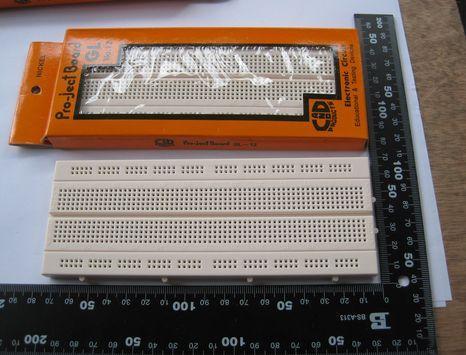 Free shipping 5PCS Bread board test board combination(China (Mainland))