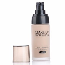 Professional Cosmetic Makeup Lasting Finish 24 Hour Moisture Isolation Waterproof Oil-control Correction Foundation 3 colors(China (Mainland))