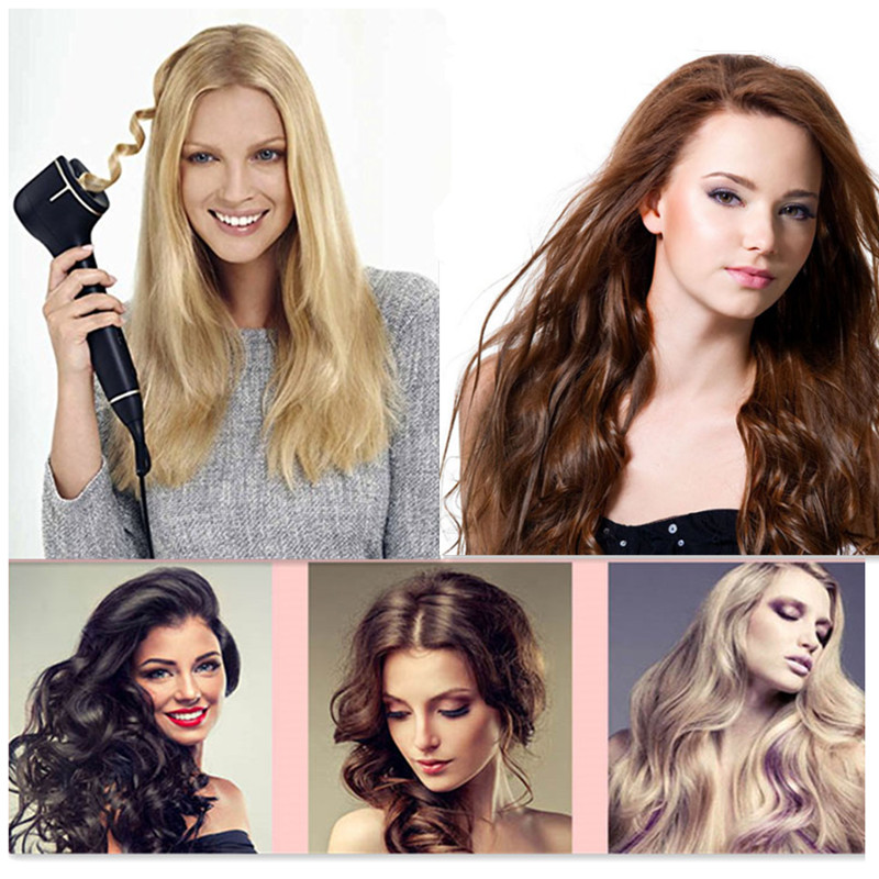 Best Selling electric hair roller Hair Curly Automatic Titanium Hair Styling Tools Automatic Curls magic hair curler curling(China (Mainland))