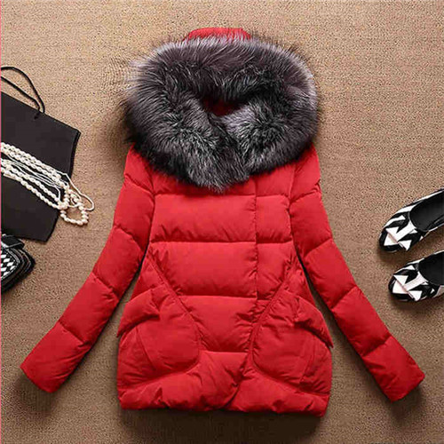 Women\`s Winter Jacket Women 2015Thick Warm Jackets And Coats A Word Parkas Fur Collar With Hood Coat Female Plus Size XXL 5Color (11)