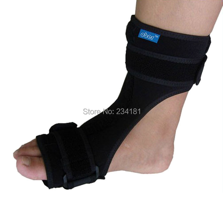Adjustable foot drop and ankle plantar fasciitis foot instep injury with plywood ankle support rehabilitation equipment