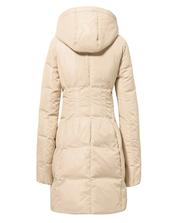 Giordano Женщины Winter Down Jackets and Coats Brand Quality Warm Длинный Coat Waterproof Female Duck Down Jacket Printed Hood