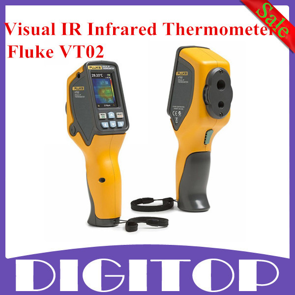 Promotion High Quality Fluke VT02 Visual IR Infrared Thermometer Fluke VT02 IR Thermometer Infrared Thermometer Fast Shipping(China (Mainland))