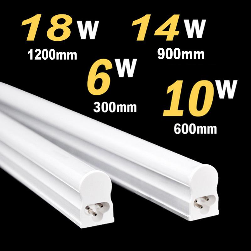 18W 14W 10W 6W LED Tube T5 Light 110V 220V 240V 55cm 30cm 90cm 1.2m led T5 lamp led wall lamp Warm Cold White Epistar led(China (Mainland))