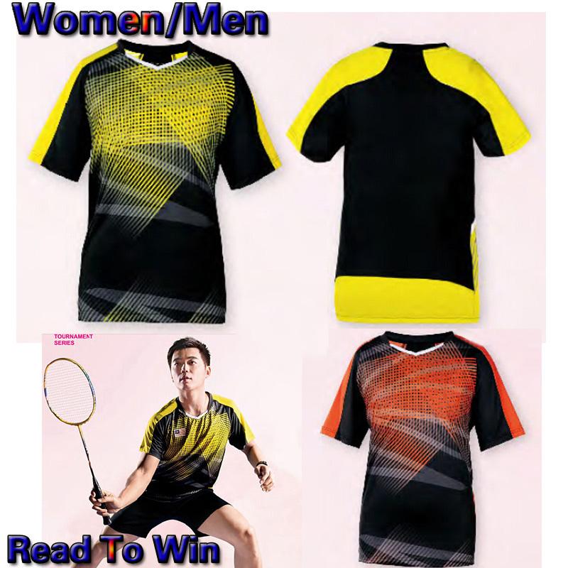 2016 Badminton Malaysia TEAM SPORTSWEAR , Badminton sports Jerseys , badminton shirt Men / Women 2102(China (Mainland))