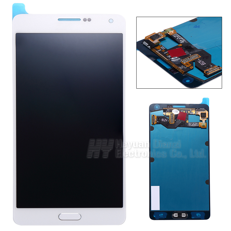 Wholesale 100% Original For Samsung galaxy A7 lcd display touch screen digitizer white black color freeshipping