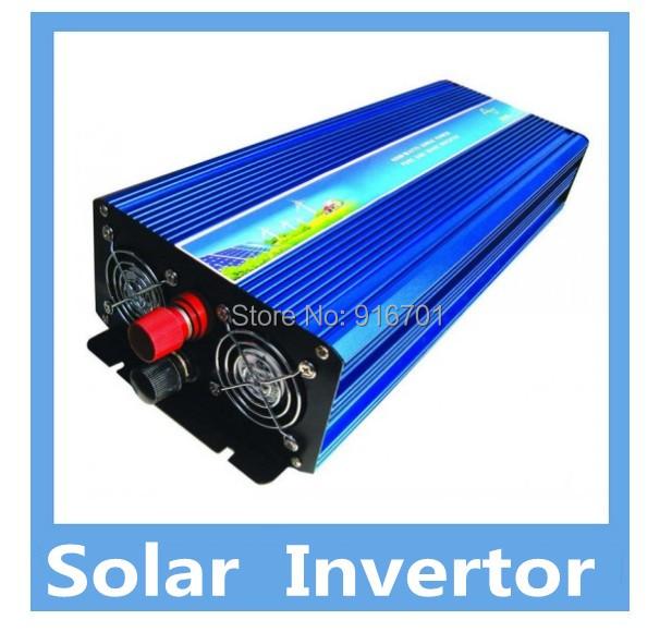 3.5KW Solar power inverter 100% full power with DC12V to AC220V(China (Mainland))