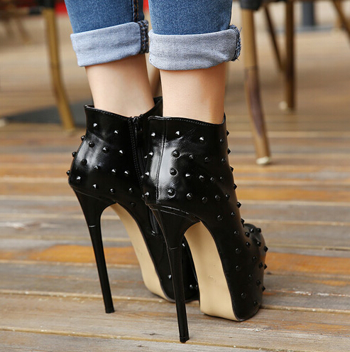 Platform Heels Boots
