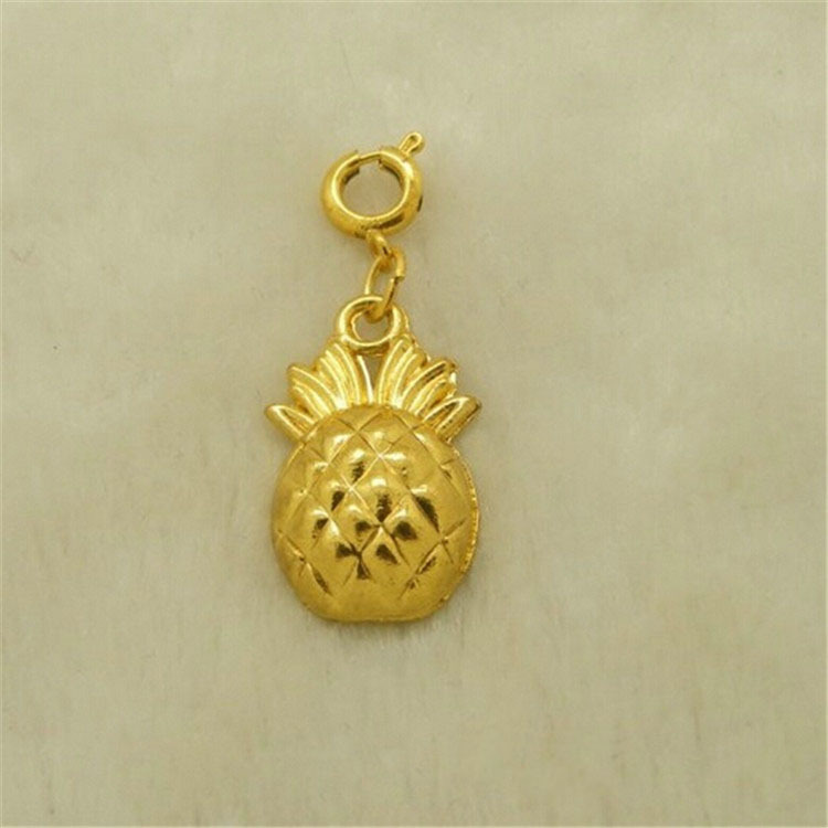 Wholesale high quality low price gold plated Pineapple floating locket charm fruit charms ,dolphin charm can mix 30pcs/lot<br><br>Aliexpress
