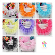 4cm Lace Trim Handmade Patchwork Material Lace Ribbon DIY Sewing & Skirt Accessories 2 yards 050025028(China (Mainland))