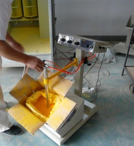 vibrating powder spray equipment(China (Mainland))