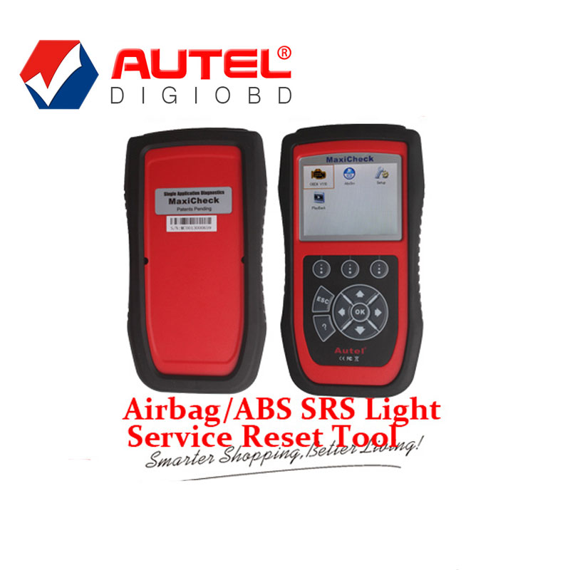 [Authorized Distributor]100% Original Autel MaxiCheck Airbag/ABS SRS Light Service Reset Tool(China (Mainland))