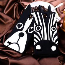 High quality Cute Covers Cartoon For Xiaomi Redmi Note 5.5 inch Hongmi note Zebra and Dog 3D phone Cover Durable Housings Shell(China (Mainland))