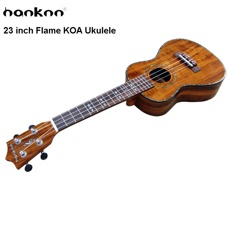 23 inch Concert Ukulele Acoustic Guitar Handcraft KOA wood stringed music instrument Hawaii Entertainment China Ukelele guitarra(China (Mainland))