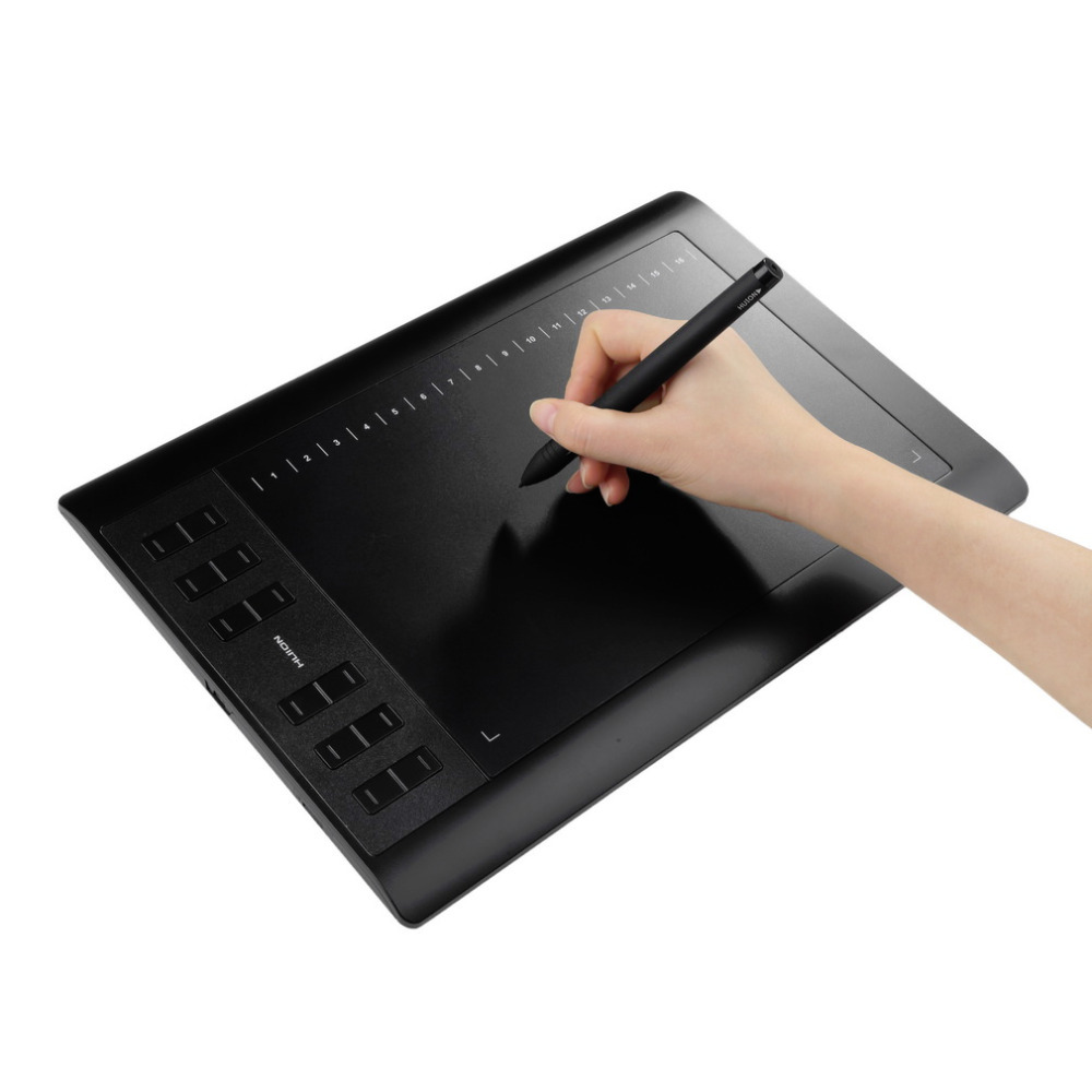 """Huion 10"""" x 6.25"""" Professional 1060 Pro+ USB Art Drawing Graphic Tablet 5080 Hot Worldwide(China (Mainland))"""