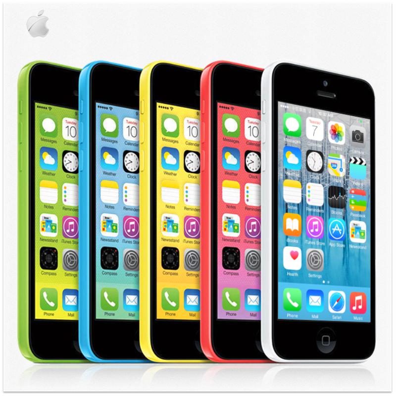 "Original Apple iphone 5C Unlocked IOS 8 16GB 32GB Dual Core 1.0GHz 1GB RAM 4.0""IPS Screen 8MP 1080P 3G WIFI GPS USED Phone(China (Mainland))"