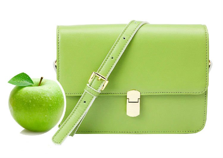 New fashion women handbag, women geniune leather bag, promotion for summer days, high quality real leather brand name handbags(China (Mainland))