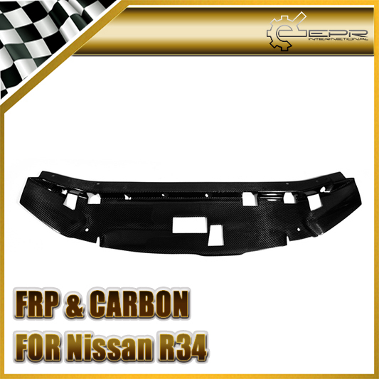 EPR - For Nissan Skyline R34 GTR Carbon Fiber Garage Defend Style Cooling Slam Panel(China (Mainland))