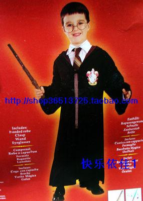 Halloween clothes cosplay clothes magic wand gift box set(China (Mainland))
