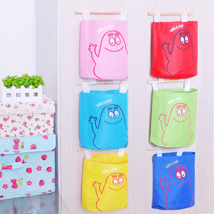 Home necessities baihuo japanese style colorful oxford fabric storage bag storage bag Special Wholesale(China (Mainland))